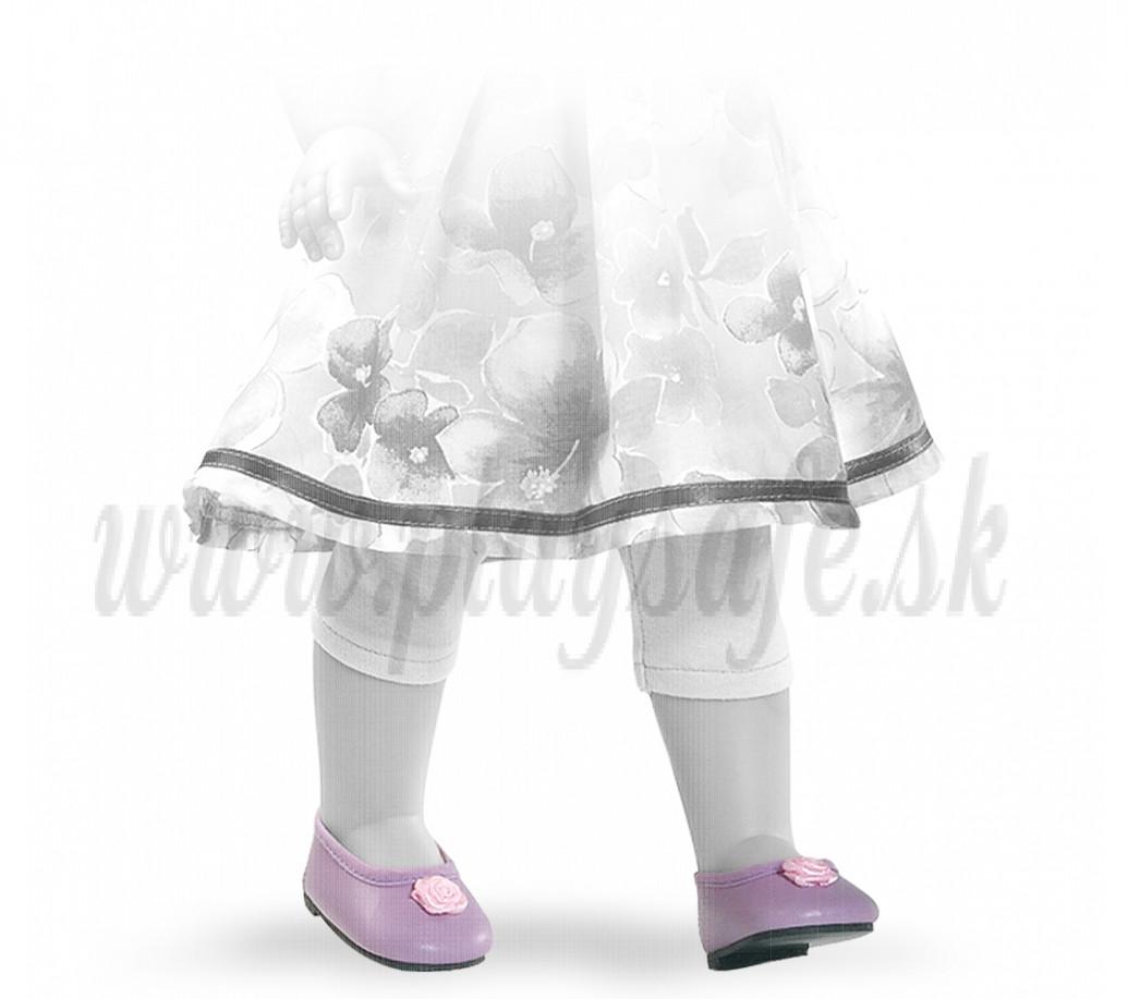 Paola Reina Soy tu baleríny 42 fialové s ružičkou