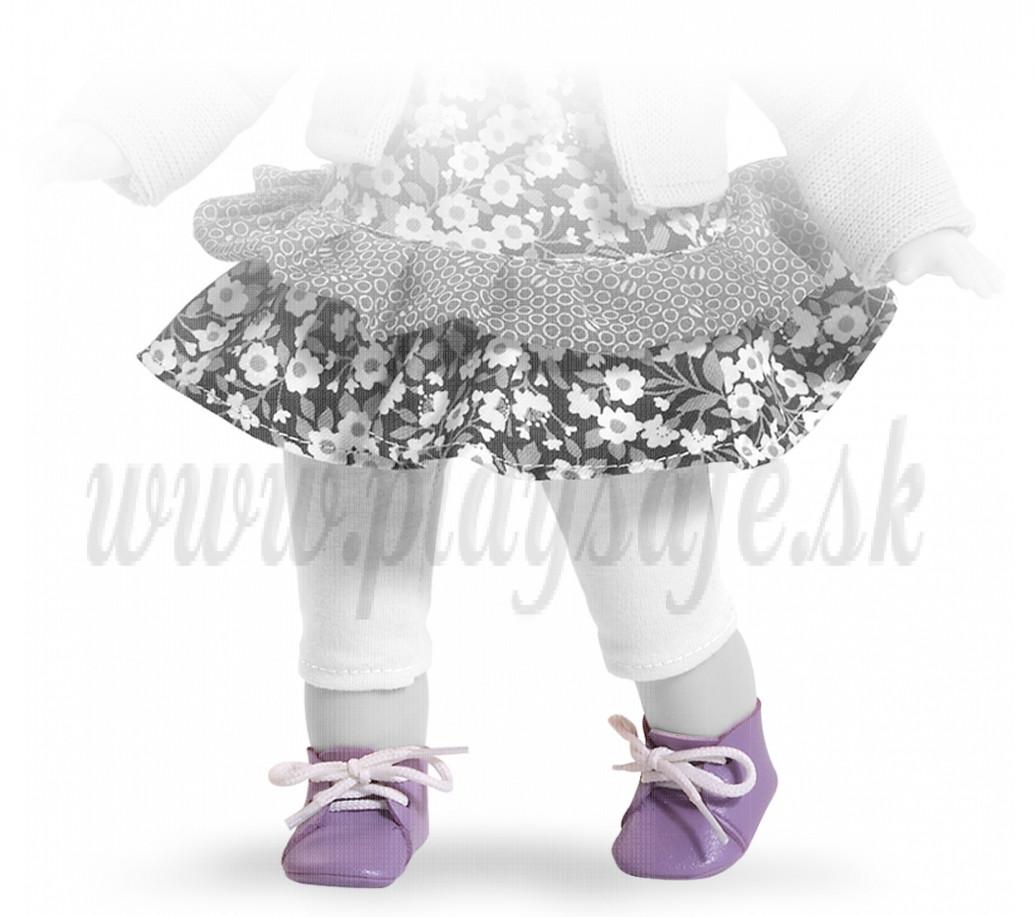 Paola Reina Las Blanditas topánočky fialové so šnúrkami