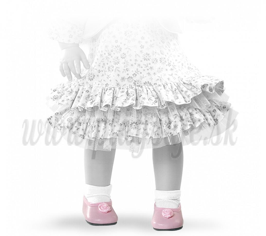 Paola Reina Soy tu baleríny 42 ružové s ružičkou
