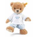Steiff Plyšový medvedík na dobrú noc, 25cm modrý
