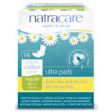 Natracare Bio bavlnené menštruačné vložky Ultra Regular, 14ks