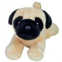 Teddy Hermann Plyšový psík mops, 21cm