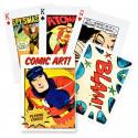 Piatnik Karty Vintage Comic Book Art, 54 kariet poker