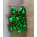 DETOA Náhradné figúrky do spoločenských hier drevené zelená