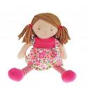 Bonikka Látková bábika Katy, 25cm