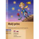 Dvojjazyčná kniha Antoine de Saint-Exupéry: Malý princ AJ-SJ