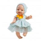 Paola Reina Realistické bábätko Gordis Raquel, 34cm