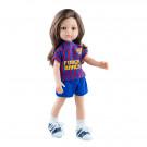 Paola Reina Las Amigas bábika Carol futbalistka, 32cm FC Barcelona