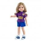 Paola Reina Las Amigas bábika Carla futbalistka, 32cm FC Barcelona