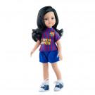 Paola Reina Las Amigas bábika Liu futbalistka, 32cm FC Barcelona