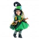 Paola Reina Las Reinas Multikĺbová bábika Zelená čarodejka, 60cm