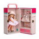 Berjuan Irene bábika, 22cm v kufríku v béžovom