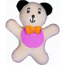 Noe Plyšová dojčenská hračka s hrkálkou Medvedík