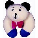 Noe Plyšová dojčenská hračka s hrkálkou Medvedík s tľapkami
