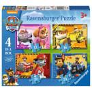 Ravensburger Puzzle Nickelodeon Labková Patrola 4v1