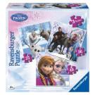 Ravensburger Puzzle Disney Ľadové kráľovstvo 3v1