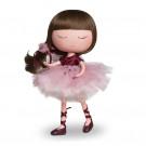 Berjuan Anekke Ballerina bábika, 32cm