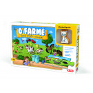 Efko Puzzle s drevenou figúrkou O farme, 9ks