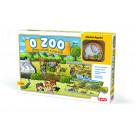 Efko Puzzle s drevenou figúrkou O ZOO, 9ks