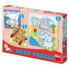 Dino Baby Puzzle ZOO, 3ks