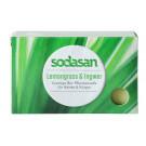 Sodasan Bio pleťové mydlo krémové citrónová tráva a zázvor, 100g