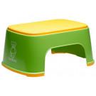 BabyBjörn stúpadlo Safe Step Spring Green zeleno-žlté