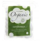 Simply Gentle Bio bavlnené kozmetické guličky odličovacie, 100ks