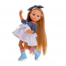 Berjuan Luxury Dolls Eva multikĺbová bábika, 35cm v letných šatočkách