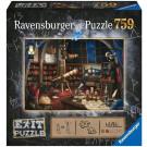 Ravensburger Exit Puzzle Hvezdáreň 759
