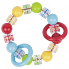 Heimess Plastová elastická hračka do ruky farebné perly