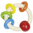 Heimess Drevená hračka Farebný krúžok Dúha