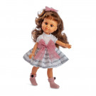 Berjuan My Girl Bábika hnedovláska, 35cm suknička s notami