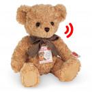 Teddy Hermann Plyšový medveď sediaci, 35cm so zvukom