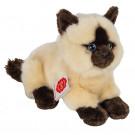 Teddy Hermann Plyšová mačka Siamská ležiaca, 20cm