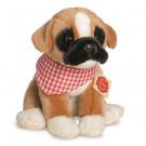 Teddy Hermann Plyšový psík Boxer sediaci, 24cm
