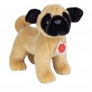 Teddy Hermann Plyšový psík mops stojaci, 21cm