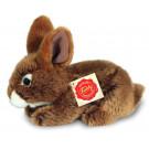 Teddy Hermann Plyšový zajko, 19cm hnedý