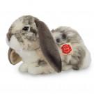 Teddy Hermann Plyšový zajko, 30cm sivý-biely