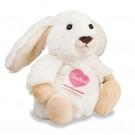 Teddy Hermann Plyšový zajko Poppi, 15cm biely