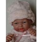 Berenguer Realistické bábätko dievčatko, 24cm v ružovom