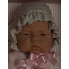 Asivil Realistické bábätko dievčatko Lucía, 42cm