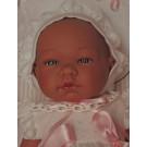 Asivil Realistické bábätko dievčatko María, 43cm na vankúši
