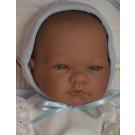 Asivil Realistické bábätko chlapček Pablo, 43cm na vankúši