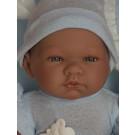 Asivil Realistické bábätko chlapček Pablo, 43cm zavinovačka