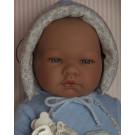 Asivil Realistické bábätko chlapček Pablo, 43cm kombinéza