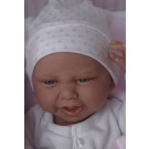 Antonio Juan Realistické bábätko Carla, 42cm na deke