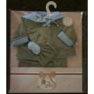 Asivil Oblečenie pre Lea s bundou, 46cm