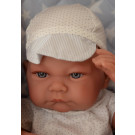 Antonio Juan Realistické bábätko Nico Manta Acolchada na deke, 42cm chlapček