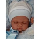 Antonio Juan Realistické bábätko Luni Arrullo, 26cm chlapček spiaci