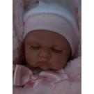 Antonio Juan Realistické bábätko Luni Arrullo, 26cm spiaca v zavinovačke